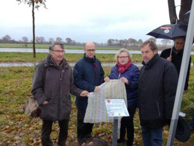 Erinnerung in Wittorf an die Todesmärsche im April 1945 (Teil II)
