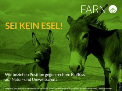 Braun-Grüner Fleckentarn: Über Rechte Parolen im Naturschutz