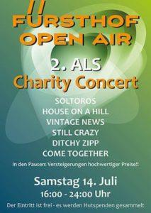 2. ALS Charity Konzert - Fürsthof Open Air @ Die Kneipe zum Fürsthof | Neumünster | Schleswig-Holstein | Deutschland