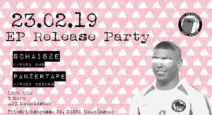 EP Release Schaisze // Panzertape @ AJZ Neumünster