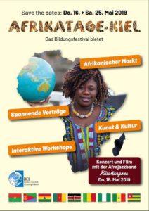 Bildungsfestival: Afrikatage Kiel 2019 @ Audimax der Christian-Albrechts-Universität zu Kiel | Kiel | Schleswig-Holstein | Deutschland