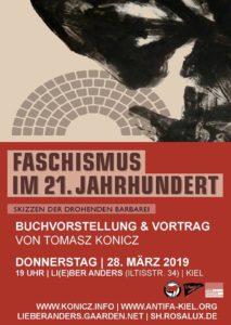 Faschismus im 21. Jahrhundert. Buchvorstellung mit Tomasz Konicz. @ Li(e)ber Anders | Kiel | Schleswig-Holstein | Deutschland