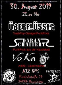 AJZ live: Überflüssig - Daran SchaiterZ - Voka @ AJZ Neumünster | Neumünster | Schleswig-Holstein | Deutschland