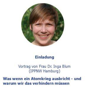 Vortrag: Was wenn ein Atomkrieg ausbricht - und warum wir das verhindern müssen @ Friedrich-Ebert-Krankenhaus Neumünster | Neumünster | Schleswig-Holstein | Deutschland