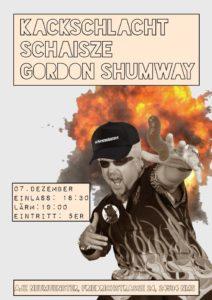 Konzert: Kackschlacht//Schaisze//Gordon Shumway @ AJZ Neumünster | Neumünster | Schleswig-Holstein | Deutschland