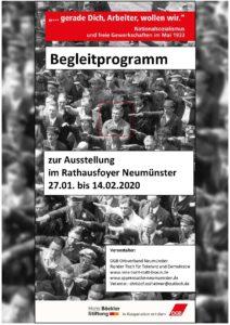 Gedenken an die Opfer des Nationalsozialismus  - Austellungseröffnung @ Rathausfoyer, Neumünster