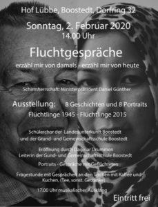 Fluchtgespräche @ Hof Lübbe | Boostedt | Schleswig-Holstein | Deutschland