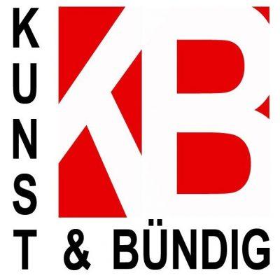 """Logo der Neumünsteraner Künstlergruppe """"Kunst & Bündig"""""""