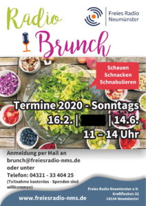 Radio Brunch - Have a Look! @ Freies Radio Neumünster-Funkhaus | Neumünster | Schleswig-Holstein | Deutschland