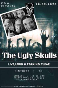 Konzert: Ugly Skulls @ KDW | Neumünster | Schleswig-Holstein | Deutschland