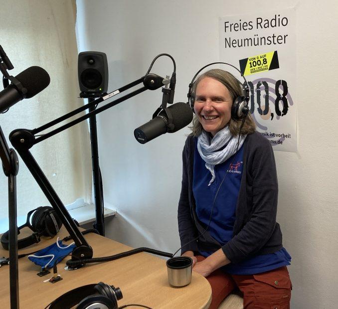 Stefanie Klingel, Tierpark-Pädagogin im Tierpark Arche